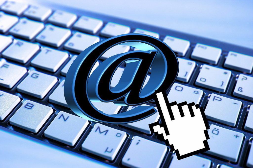 email, keyboard, computer